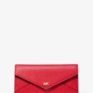 Kors Red Envelope Wallet